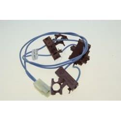 Шлейф с микровыключателями блока поджига для варочной панели Whirlpool 481227138499 - фото 28539