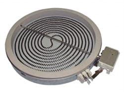 Конфорка стеклокерамика D=175mm 1700W 230V, для плит whirlpool, 481231018889 - фото 28549