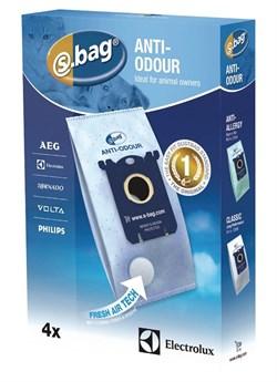 Мешки (4шт) E203B S-BAG Anti-Odour к пылесосу Electrolux 9001684597 9001660068 2190791109 - фото 46734