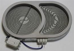 Конфорка в сборе 1800/1000W 165 мм для плиты Whirlpool 481231018896