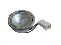 Лампочка галогеновая в сборе 20w 12v для вытяжки Indesit Ariston C00242926