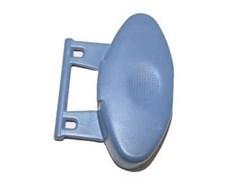 Кнопка открытия створок барабана вертикальной стиральной машины Indesit Ariston C00114990