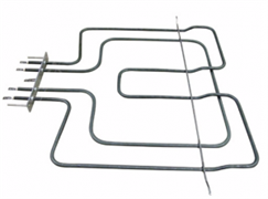 Тэн 2500Вт (900+1600Вт) верхний для духовки Whirlpool 481225998474 (380х370мм)