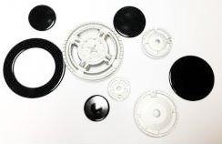 Набор горелок с крышками для газовой плиты Indesit PH640MSP C00091686