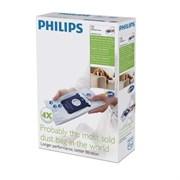 Набор мешков (4шт) FC8023/04 для пылесоса Philips 883802304010