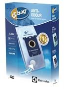 Мешки (4шт) E203B S-BAG Anti-Odour к пылесосу Electrolux 9001684597 9001660068 2190791109 (900166006)