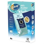 Мешки (микроволокно) E206B Electrolux для S-BAG HEPA Clinic Anti-Allergy 9001660357 (900166035)