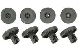 Комплект роликов (8шт) для нижнего ящика к посудомоечной машине Electrolux 50286965004