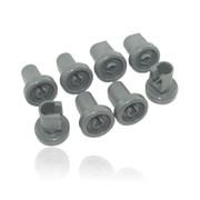 Комплект роликов (8шт) к посудомоечной машине Electrolux 50286967000
