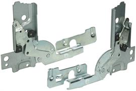 Петли дверные (2 шт) для посудомоечной машины Electrolux 50286437004