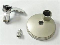 Планетарная головка с крышкой и накидной гайкой для редуктора кухонного комбайна Kenwood KW715817