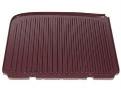 Пластина жарочная верхняя для электрогриля Delonghi KB1027