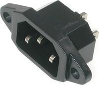 Разъем сетевого кабеля мультиварки Tefal, SS-993080