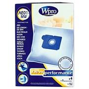 Набор мешков AE01-MW Wpro (4 шт) и фильтра мотора для пылесоса Electrolux 481281718608