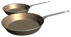 Набор сковородок (2 шт) с антипригарным покрытием E9KLFPS2 Electrolux 902979499