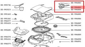 Клапан паровой мультиварки Moulinex SS-996083