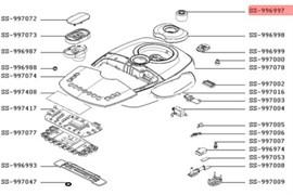 Клапан паровой мультиварки Tefal SS-996997