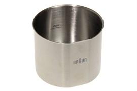 Чаша металлическая насадки кофемолки для блендера Braun 7322117074