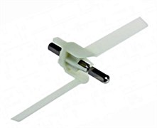 Ось лопасть овощерезки для кухонного комбайна Bosch MUM4, MUM8, 91027
