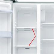 Полка в морозильное отделение холодильника SamsungDA67-03362A (верхняя)