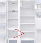 Полка в морозильное отделение холодильника SamsungDA67-03363A (нижняя)