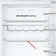 Полка стеклянная для холодильника Samsung DA97-17294A