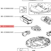 Мотор щетки для робота пылесоса Rowenta RS-2230001924