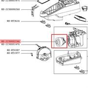 Мотор RS-2230002246 для пылесоса Rowenta Silence Force