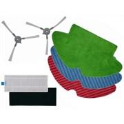 Комплект ZR763000 щеток боковых, тряпочек и фильтров для робота пылесоса Rowenta X-plorer Serie 75